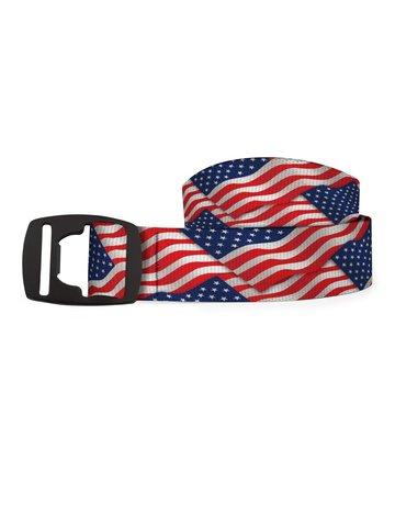 Croakie Belt USA FLAG BK