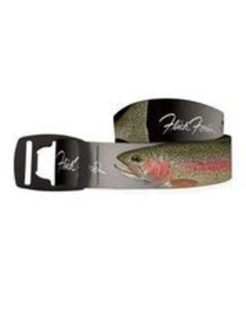 Croakie Belt Rainbow Black/Grey BK