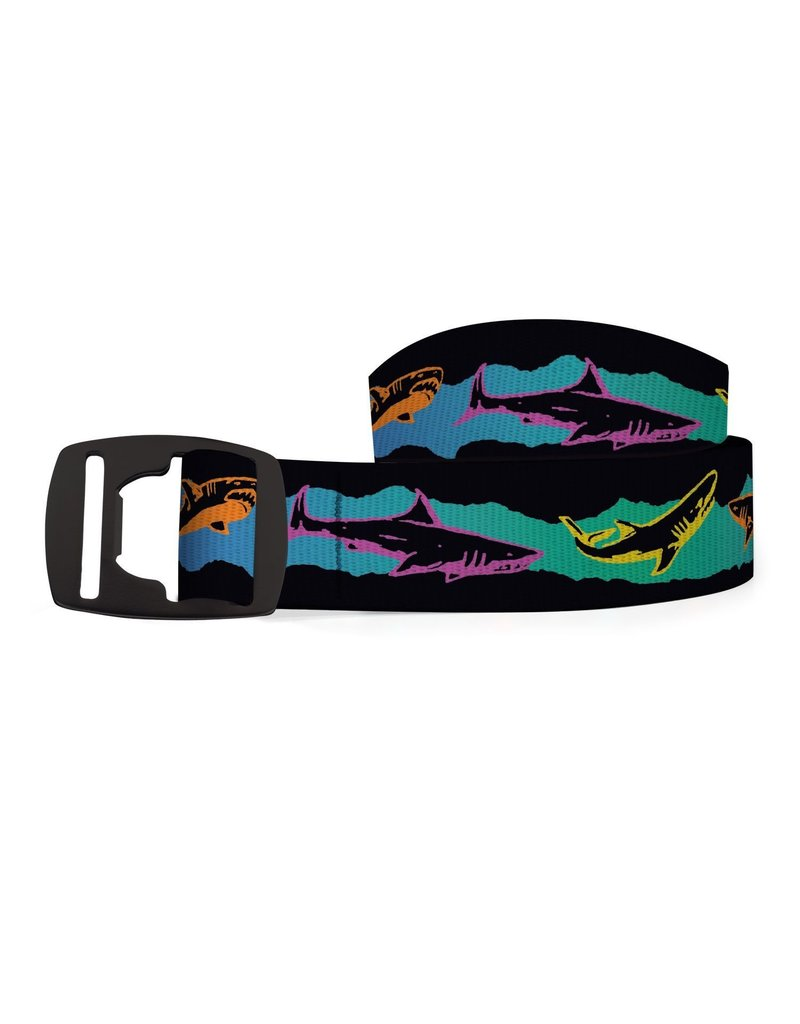 Croakie Belt Sharks Retro BK