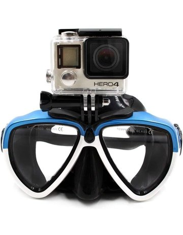Amazon Go Pro Snorkel Mask BLK/BLU
