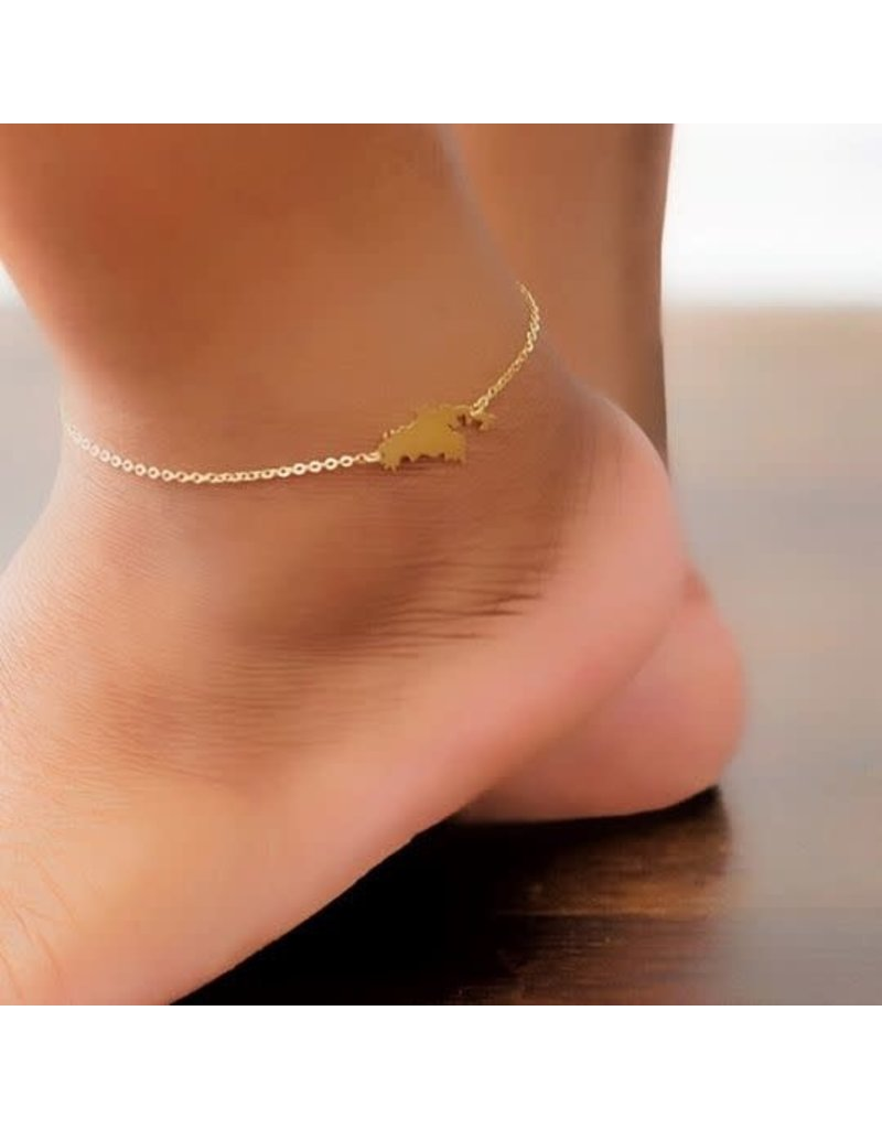 Copy of St. Thomas Anklet GD