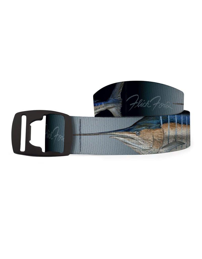 Croakie Belt Marlin Royal BK