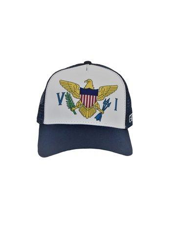O/S Trucker Hat Navy VI Flag