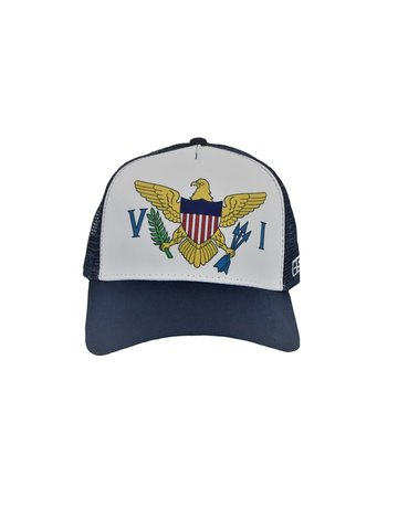 Pukka O/S Trucker Hat Navy VI Flag