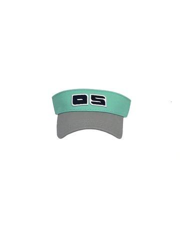 O/S Visor Seafoam/Grey