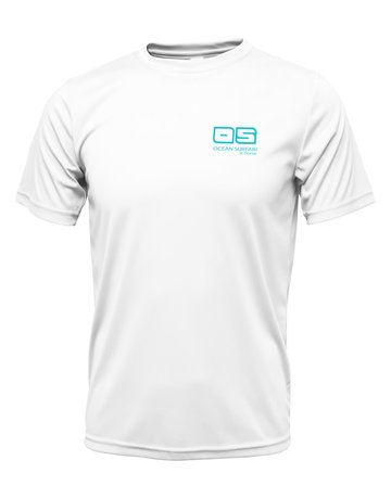 Ocean Surfari OS SPF 50+ Performance Men's SS White