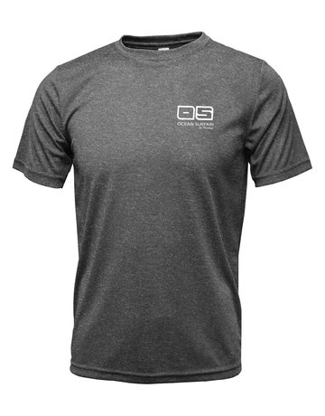 Ocean Surfari OS SPF 50+ Performance Men's SS Heather Black