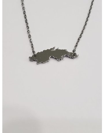 St. Thomas Necklace Silver