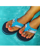 Ocean Surfari OS Ladies Flip Flops Blue