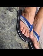 Ocean Surfari OS Mens Flip Flops Navy