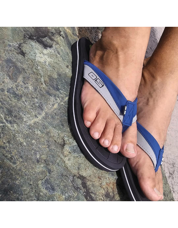 Ocean Surfari OS Mens Flip Flops Navy