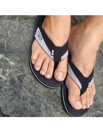 Ocean Surfari OS Mens Flip Flops Black