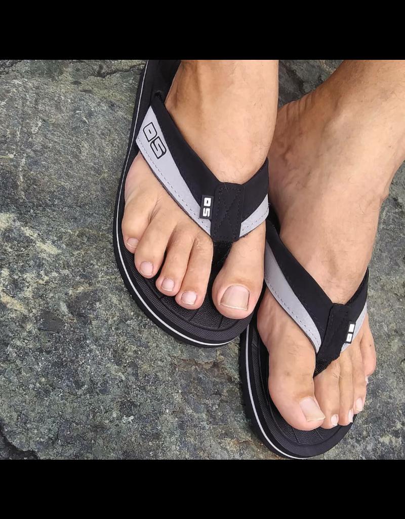 Ocean Surfari OS Mens Flip Flops Black