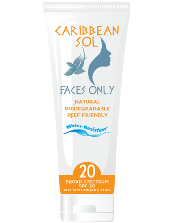 Caribbean Sol Caribbean Sol Faces Only SPF 20 4 oz.