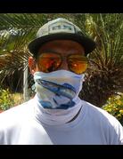 Ocean Surfari Jumping Wahoo Sun Shield Buff
