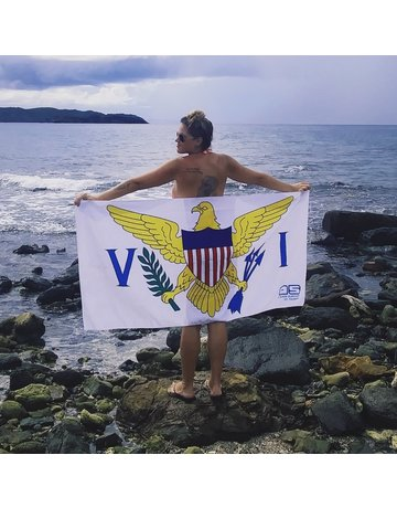 Ocean Surfari VI Flag Towel