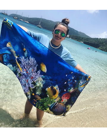Ocean Surfari Coral Reef Towel