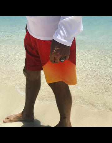Ocean Surfari Men's Static Short Red