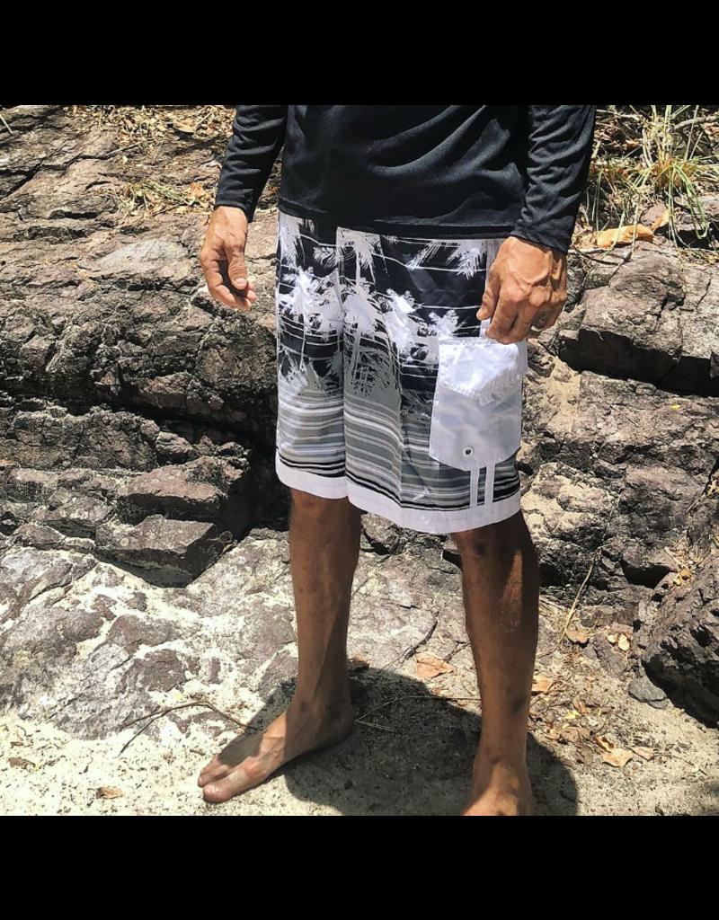 Ocean Surfari Men's South Beach Short Black