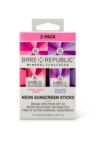 Bare Republic Bare 2PK STK Pin-Pur