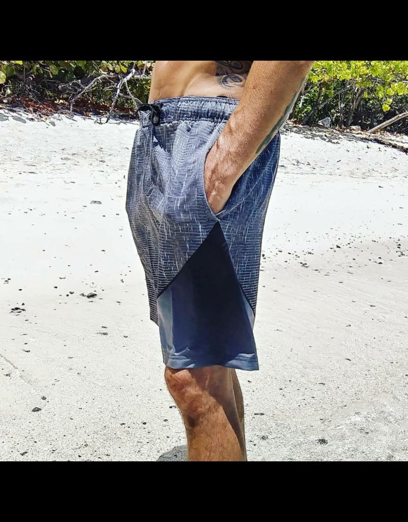 Ocean Surfari Men's Static Short Charcoal