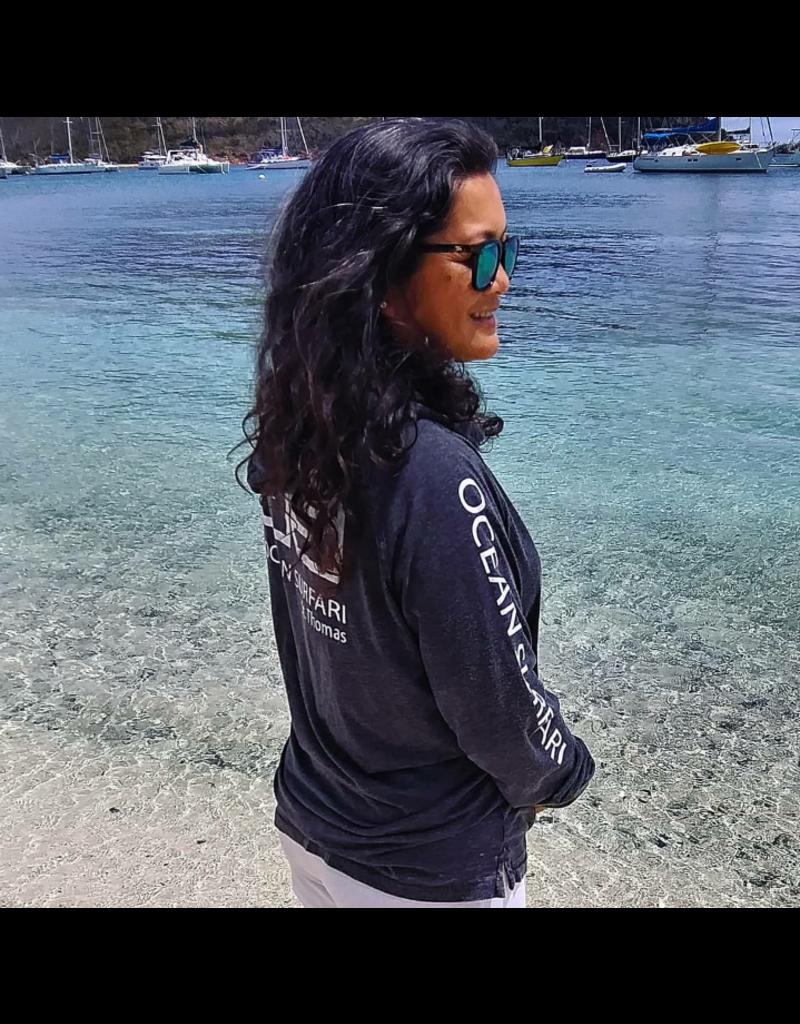Ocean Surfari Lad Princess Hoodie Black