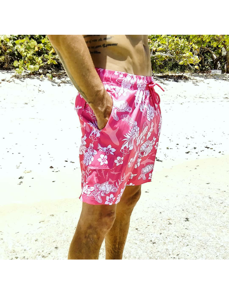 Ocean Surfari Men's Swim Short Tropic Seas Punch