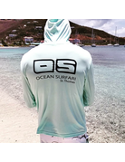 Ocean Surfari OS SPF 50+ Performance Men's Hoodie Seafoam