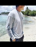Ocean Surfari Hacci Fleece Crewneck Grey
