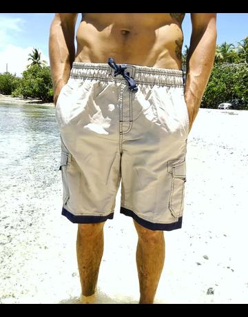 Ocean Surfari Men's Islander Short Stone