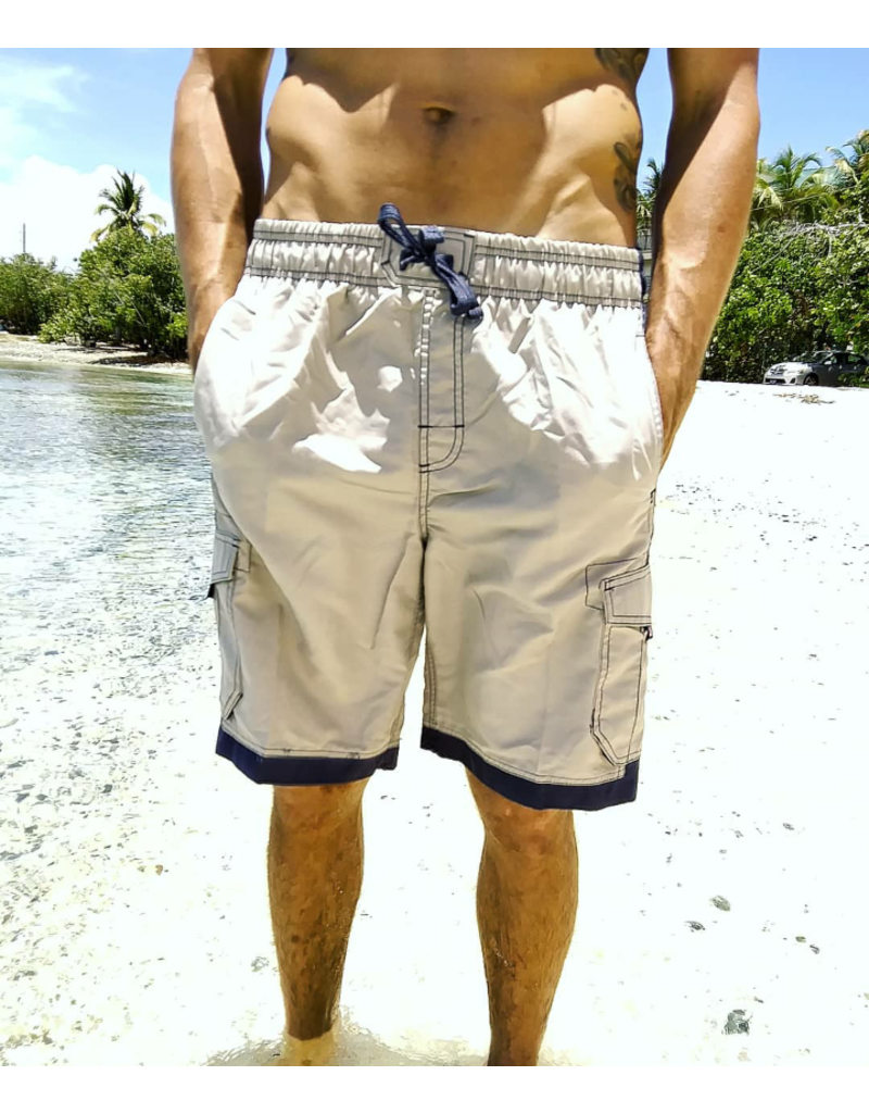 Ocean Surfari Men's Islander Short Stone