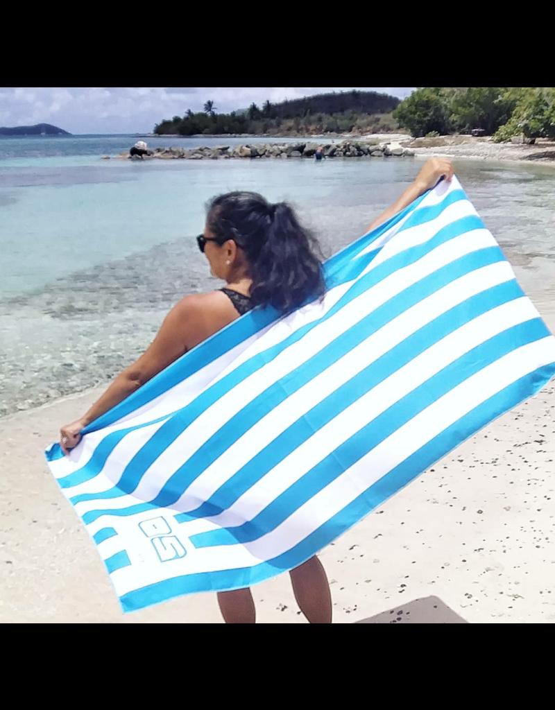 Ocean Surfari Cabana Blue Towel