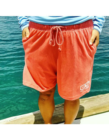 Ocean Surfari Lad Jersey Short Coral