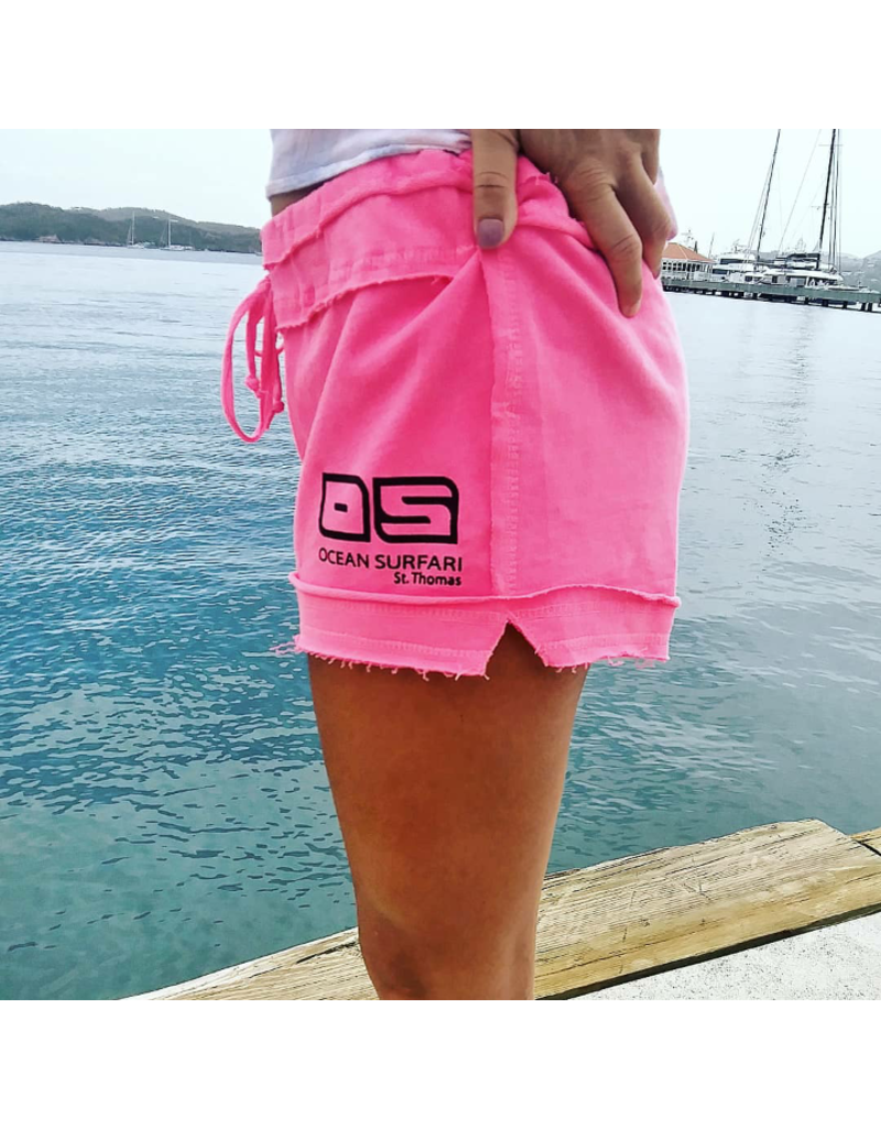 Ocean Surfari The Beach Short Pink
