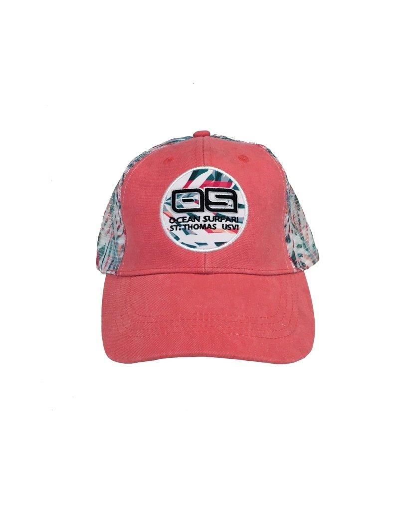 Ocean Surfari OS Hat St. Thomas Coral