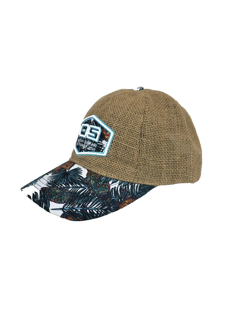 Ocean Surfari OS Jute Hat Turtle