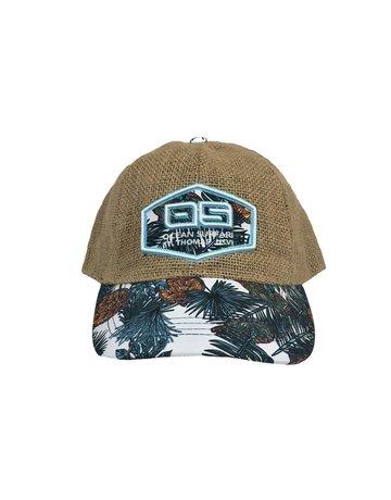 Ocean Surfari OS Jute Hat Turtle