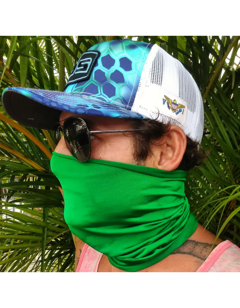 Ocean Surfari Green Sun Shield Buff