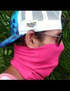 Ocean Surfari Hot Pink Sun Shield Buff