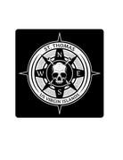 Auto - Graphs Large STT Compass w/Skull