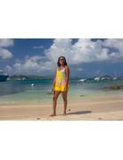 Ocean Surfari Tie Dye Romper Pastel Seafoam