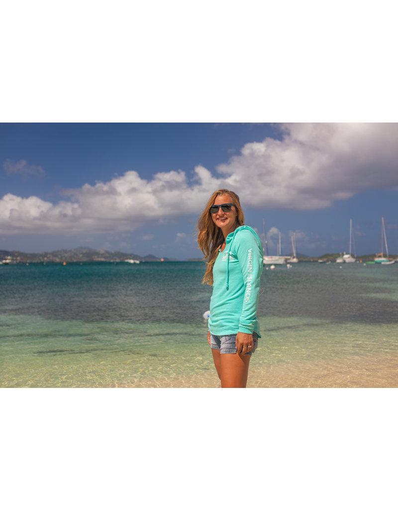 Ocean Surfari Lad Tunic Hoodie Sea Spray