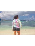 Ocean Surfari O/S Tie-Dye Burnout Hoodie SAP