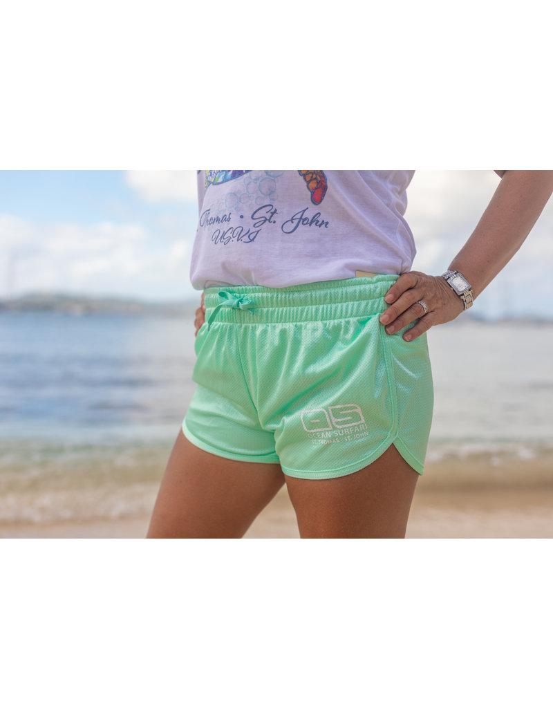 Ocean Surfari O/S Running Short Seafoam
