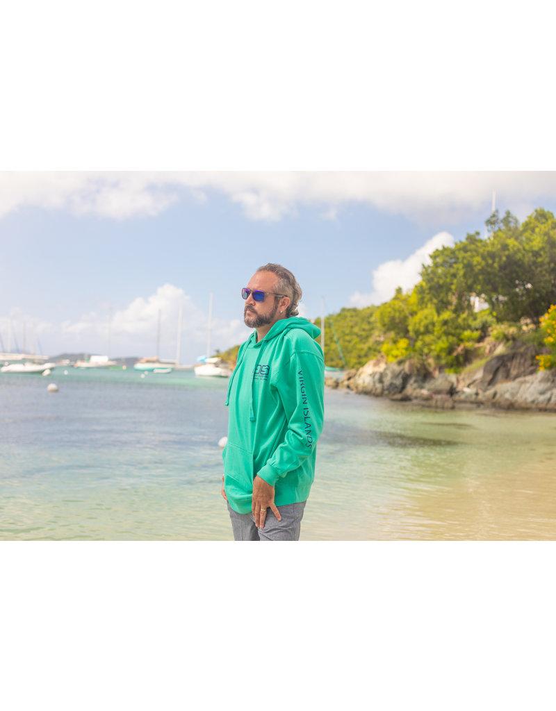 Ocean Surfari O/S Pull-Over Hoodie Seafoam