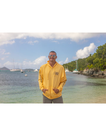 Ocean Surfari O/S Pull-Over Hoodie Banana