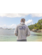 Ocean Surfari O/S Pull-Over Hoodie Heather Gray