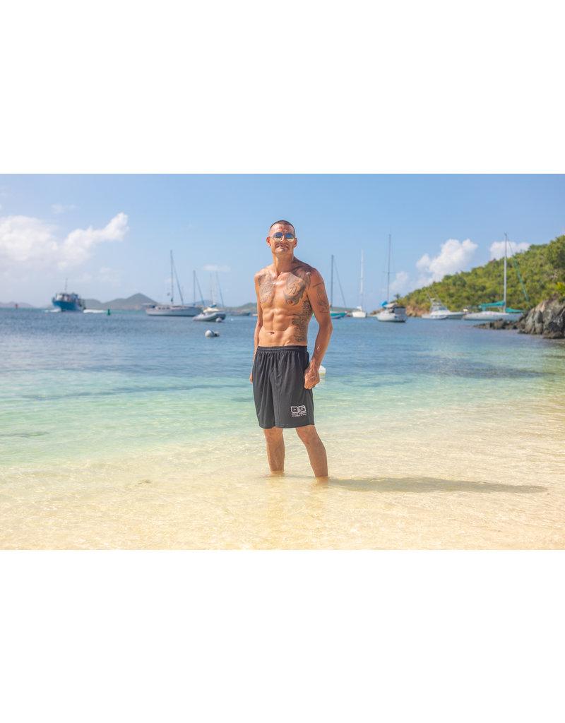 Ocean Surfari Men's Extreme Performance Shorts Black