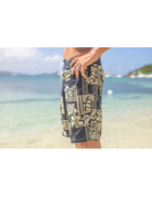 RS Surf RS Surf Board Short Black/Khaki