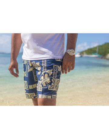 RS Surf RS Surf Board Short Navy/Khaki